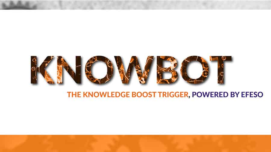 KnowBoTs, ideas that will inspire and empower you to progress faster
