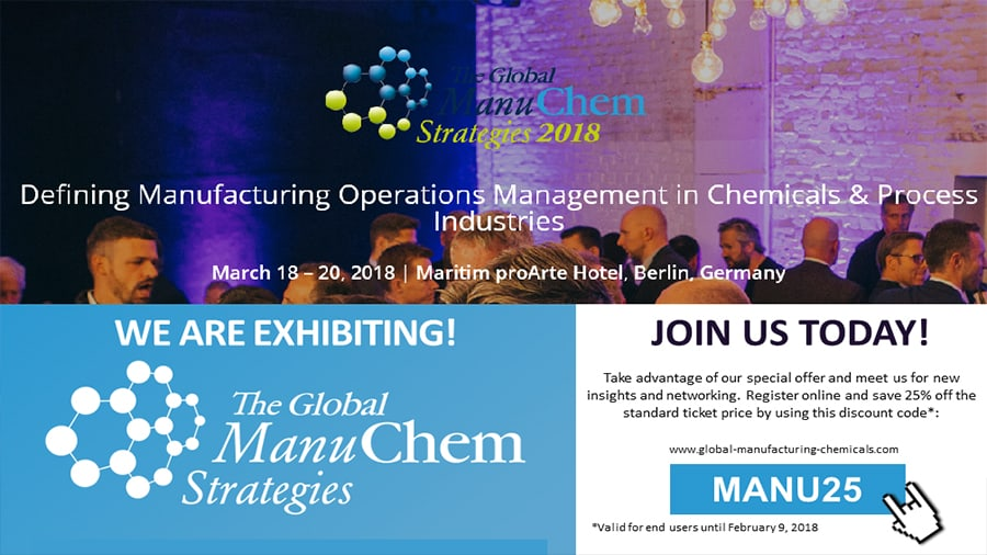 EFESO Consulting at the Global ManuChem Strategies 2018