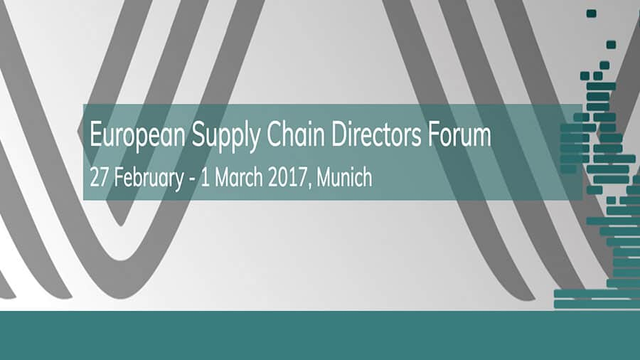 EFESO at European Supply Chain Directors Forum, February 27, 28 and March 1