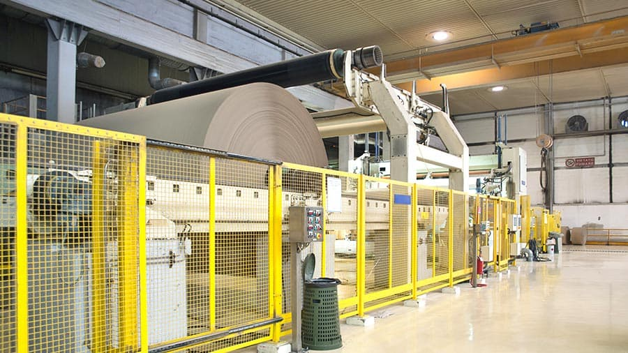 Vertical Start-up for Millions of Revenues for large paper manufacturer facing an investment in a new paper machine
