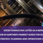 EFESO Consulting listed as a Representative Vendor in Gartner's Market Guide for Supply Chain Strategy, Planning and Operations Consulting