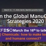 Meet with EFESO at Manuchem, the calendar event for all chemical manufacturers in Europe!
